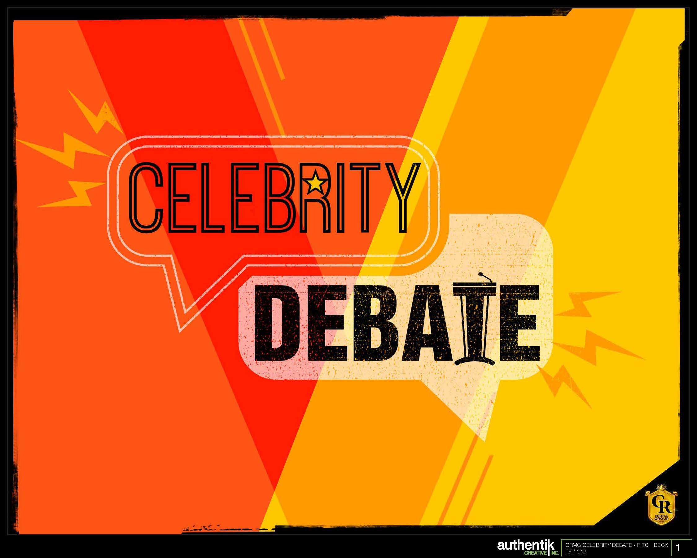 Celebrity Debate